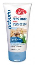 Babaria Aloe Vera Exfoliating Foot Cream 150ml